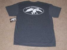 Authentic Duck Commander Dynasty Charcoal T-Shirt White Logo NEW Size LARGE L