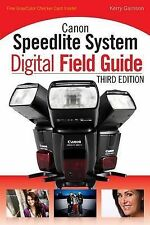 Canon Speedlite System Digital Field Guide,GOOD Book