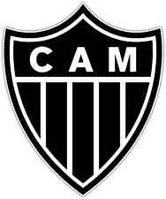 "Atletico Mineiro FC Brazil Football Soccer Car Bumper Sticker Decal  5""X4"""