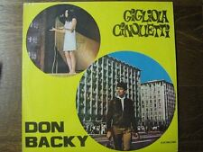 GIGLIOLA CINQUETTI DON BACKY 33 TOURS ROUMANIE DYLAN