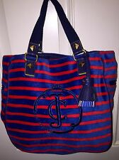 Juicy Couture Velor Striped  Bag