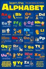 Apprendre l'alphabet-maxi poster 61cm x 91.5cm (new & sealed)