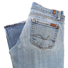 7 SEVEN FOR ALL MANKIND Womens Jeans Size 26 BOOTCUT Pants 30 X 31