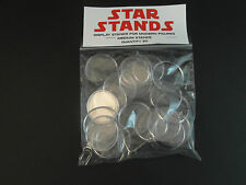 "50 x nouveau 1.5"" moderne star wars figure display stands-large position - 1995 onwwards"