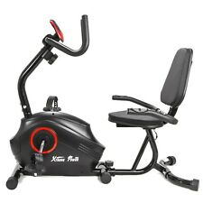 Deluxe Home gym cardio 8.8 lb inner Magnetic Recumbent stationary Bike fitness