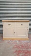 Peint en pin massif shaker buffet avec tiroirs/sur mesure/farrow and ball