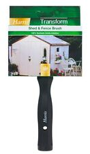 """Harris Transform 100% Synthetic Wood Timber Garden Shed & Fence Paint Brush - 5"""""""