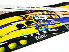 THE BEATLES LOT OF 20 FABRIC WRISTBANDS / BRACELETS ASSORTED