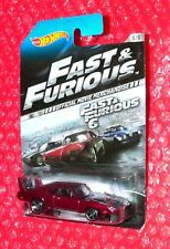 2014 Hot Wheels  '69 Dodge Charger Daytona #8/8 Fast and Furious 6  CDR61-0911