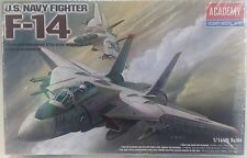 U.S. Navy Fighter F-14 Academy Hobby Model Kit 1/144th Scale - NEW IN BOX