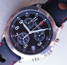 Victorinox V 25071 Swiss Infantry Chronograph Jewels running, keeping good time