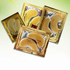 New 5 Pairs Crystal Gold Collagen Eye Gel Mask for Dark Circles, Bags, Wrinkles