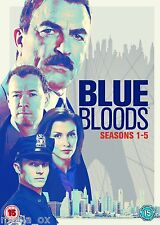 Blue Bloods - Complete Seasons (Series) 1 2 3 4 & 5 Collection Box Set | New DVD