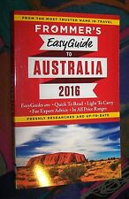 Frommer's Easy Guide to AUSTRALIA 2016 (Australien) # with foldout map