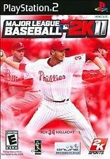 Major League Baseball 2K11 - PlayStation 2 Brand New Sealed Free Fast Shipping