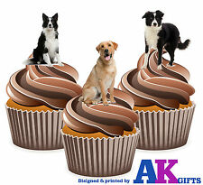 Farm Animals Farm Dog Birthday Party 12 Cup Cake Toppers Edible Decorations