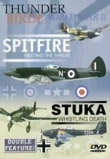 Spitfire Meeting the Threat / Stuka Whistling Death (New DVD) Aviation Aircraft