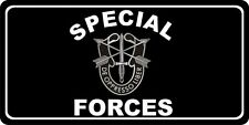 Special Forces Photo License Plate