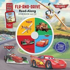 Cars  Planes: Fly-and-Drive Read-Along Storybook and CD: Purchase Incl-ExLibrary