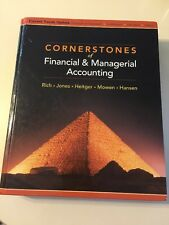 Cornerstones Of Financial and Managerial Accounting by Jeff J…