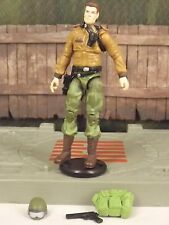 GI JOE 25th anniversary General Hawk v4 commander 2009 Rise of Cobra ROC