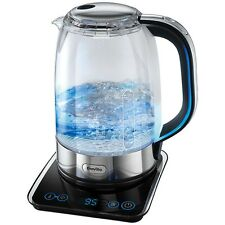 Breville Glass Kettle Crystal Clear Multi-Temperature Breville VKJ785 Kettle New