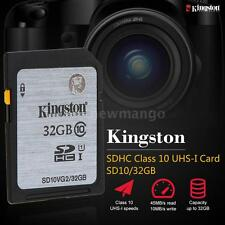 Kingston Class 10 32GB SDHC Memory Card 45M/s for Cellphone Camera HD Video C1O9