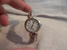 Vintage Timex Ladies Watch Silver and Gold tone WR 30M