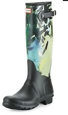 Nib Hunter Size 7 Women's Botanical Rain boot $175