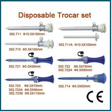 Brand New Disposable Trocar set Laparoscopy /Arthroscopy 302.723A