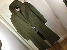 WWII US Army 1942 Trench Coat Over Coat-Melton Wool-  Size 36R
