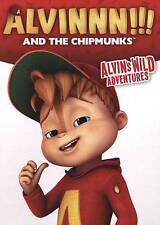 Alvin And the Chipmunks: Alvins Wild Adventures (DVD, 2015) Alvinnnn!!!