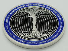 Paul Santisi Energy COIN Silver/Blue 50% Off + FREE SHIPPING USA