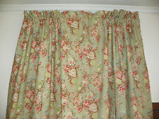 """RALPH LAUREN """"CHARLOTTE"""" PAIR OF LINED DRAPES-86"""" LONG- 5 PAIRS AVAILABLE + ONE"""