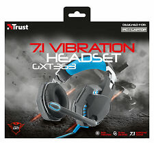 TRUST 20407 GXT363 GAMING SERIES 7.1 SURROUND SOUND BASS VIBRATION USB HEADSET