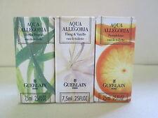 Guerlain Aqua Allegoria Pamplelune, Ylang Vanille, Herba Fresca 3 Boxed Mini's