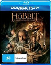 Hobbit - The Desolation of Smaug (Blu-ray, 2014, 2-Disc Set)