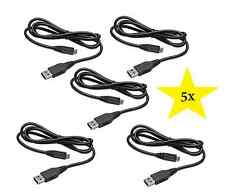 LOT OF 5 USB CHARGER DATA CABLE FOR SONY PLAYSTATION 3 PS3 DUALSHOCK CONTROLLER
