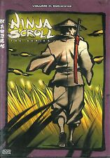 Ninja Scrol ~ The Series ~ Vol. 3 ~ Deliverance ~ New Factory Sealed DVD