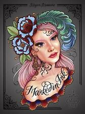 Marked in Ink : A Tattoo-Inspired Coloring Book by Megan Massacre (2016,...