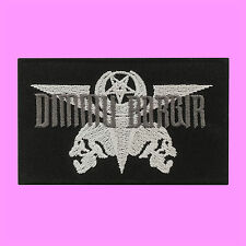 Dimmu Borgir Death Metal Music Punk Rock Star Skull Embroidered Iron On Patch