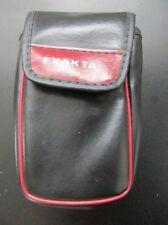 Fototasche für Rollfilmkamera - Schwarz - Leder
