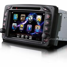 """7"""" Car DVD GPS 3G iPhone DVR/DTV-IN Benz C-W203 CLK-W209 G-W463 W168 W639 ES7063"""