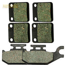 Front Rear Kevlar Carbon Brake Pads - 2001 YAMAHA YFM 400 Kodiak 4x4 Hunter