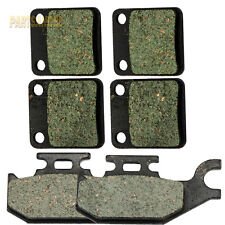 Front Rear Kevlar Carbon Brake Pads - 2000 2001 2002 YAMAHA YFM 400 Kodiak