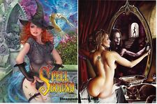 SPELLBOUND - Black Magic Women Art Book  *NM/M*