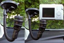 "CAR 11"" WINDSHIELD FLEXIBLE SUCTION CUP MOUNT FOR CAMERA VIDEOCAM CAMCORDER"