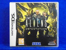 ds ALIENS INFESTATION A 2D Side Scoller Lite DSi 3DS Nintendo PAL UK REGION FREE