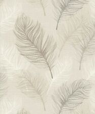 Arthouse Whisper Taupe Wallpaper 669802 - Bird Feathers Quill Pen