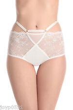 DITA VON TEESE MADAME X Full Brief MEDIUM Winter White/Ivory